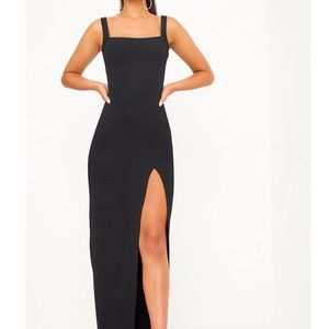 PrettyLittleThing Dresses - Pretty little thing Black maxi dress